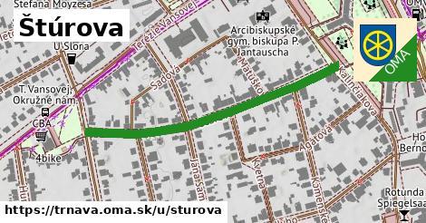 ilustrácia k Štúrova, Trnava - 467m