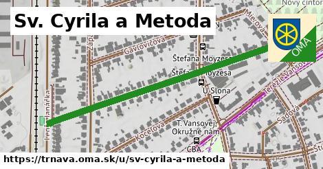 ilustrácia k Sv. Cyrila a Metoda, Trnava - 560m