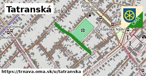ilustrácia k Tatranská, Trnava - 241m
