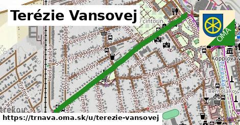 ilustračný obrázok k Terézie Vansovej, Trnava