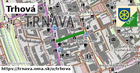 ilustrácia k Trhová, Trnava - 155m
