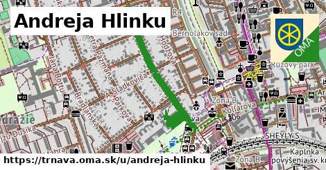 ilustrácia k Andreja Hlinku, Trnava - 0,79km