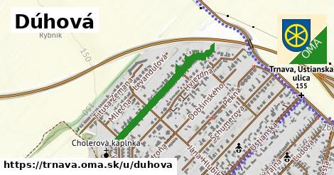 ilustrácia k Dúhová, Trnava - 657m