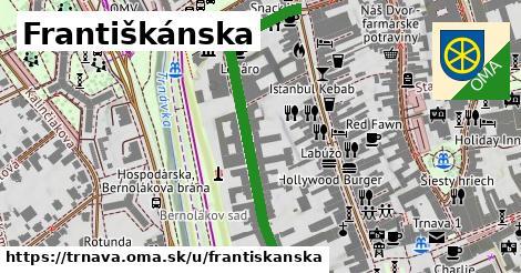 ilustrácia k Františkánska, Trnava - 500m
