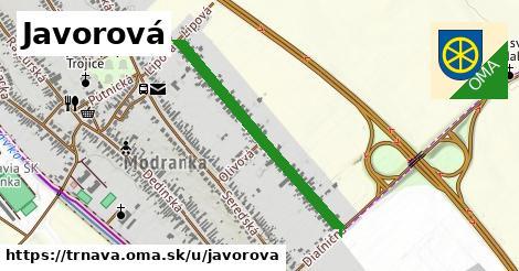 ilustrácia k Javorová, Trnava - 0,72km