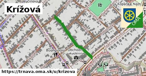 ilustrácia k Krížová, Trnava - 292m
