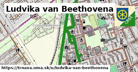 ilustrácia k Ludvika van Beethovena, Trnava - 1,70km