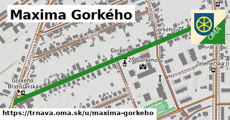 ilustrácia k Maxima Gorkého, Trnava - 0,72km