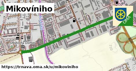 ilustrácia k Mikovíniho, Trnava - 1,11km