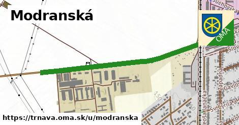 ilustrácia k Modranská, Trnava - 1,51km