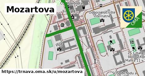 ilustrácia k Mozartova, Trnava - 694m