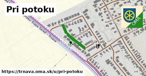 ilustrácia k Pri potoku, Trnava - 173m