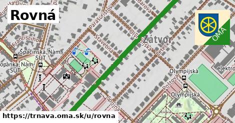 ilustrácia k Rovná, Trnava - 552m
