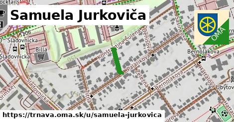 ilustrácia k Samuela Jurkoviča, Trnava - 88m