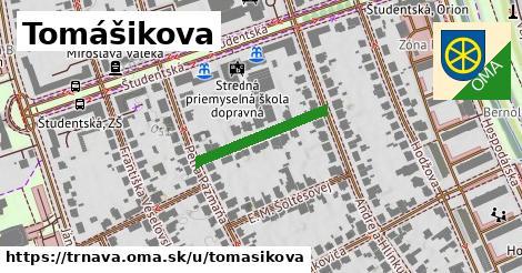 ilustrácia k Tomášikova, Trnava - 203m
