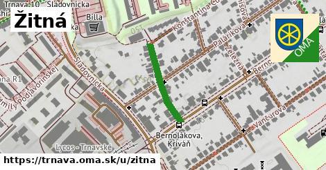 ilustrácia k Žitná, Trnava - 193m