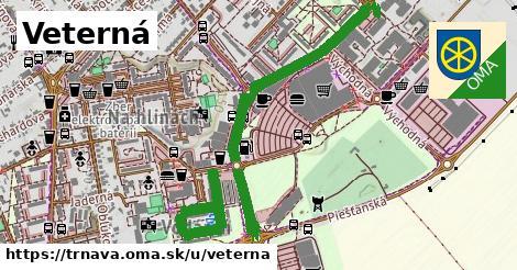 ilustračný obrázok k Veterná, Trnava