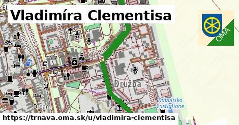 ilustrácia k Vladimíra Clementisa, Trnava - 1,35km