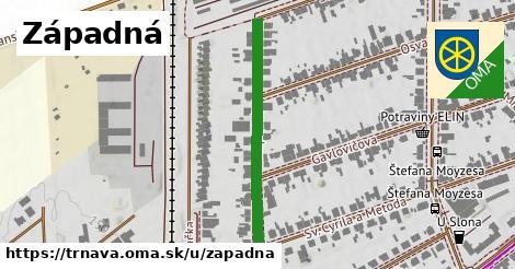 ilustrácia k Západná, Trnava - 337m