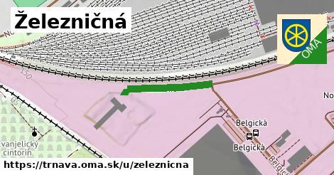 ilustrácia k Železničná, Trnava - 646m