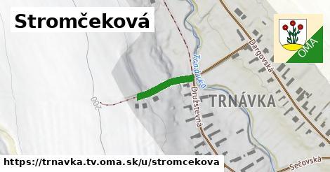 ilustrácia k Stromčeková, Trnávka, okres TV - 156m