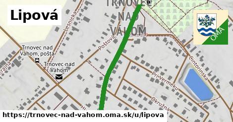 ilustrácia k Lipová, Trnovec nad Váhom - 401m