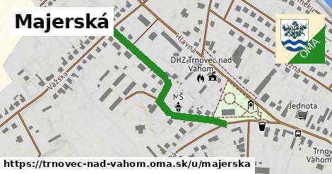 ilustrácia k Majerská, Trnovec nad Váhom - 393m