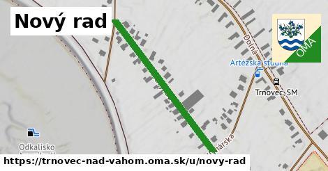 ilustrácia k Nový rad, Trnovec nad Váhom - 376m