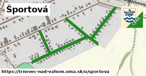 ilustračný obrázok k Športová, Trnovec nad Váhom