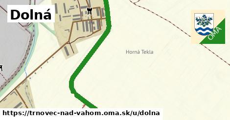 ilustrácia k Dolná, Trnovec nad Váhom - 3,0km
