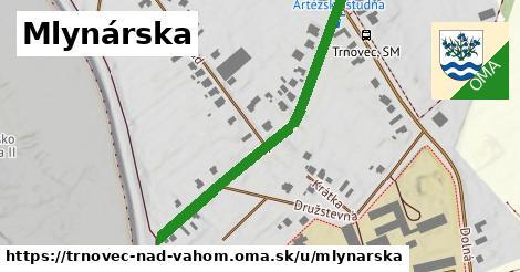 ilustrácia k Mlynárska, Trnovec nad Váhom - 449m