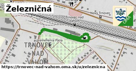 ilustračný obrázok k Železničná, Trnovec nad Váhom