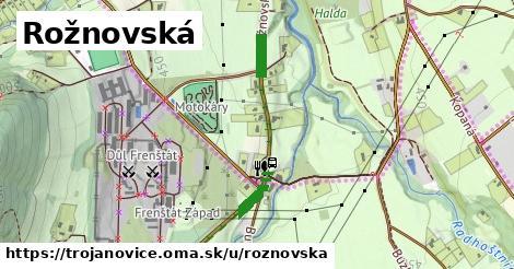 ilustrácia k Rožnovská, Trojanovice - 243m