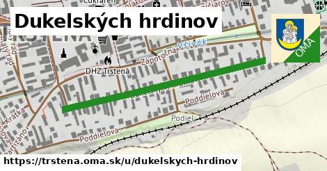 ilustrácia k Dukelských hrdinov, Trstená - 468m