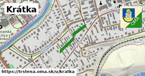 ilustrácia k Krátka, Trstená - 267m