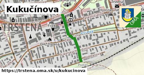 ilustrácia k Kukučínova, Trstená - 267m