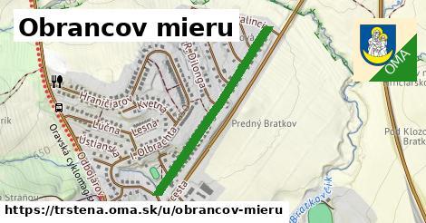 ilustrácia k Obrancov mieru, Trstená - 694m
