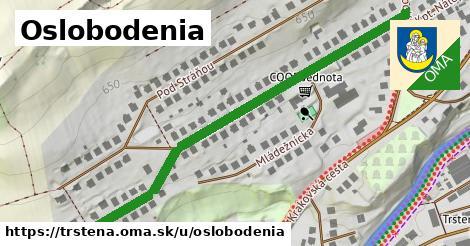 ilustrácia k Oslobodenia, Trstená - 657m