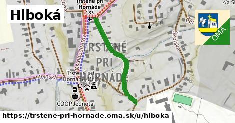 ilustrácia k Hlboká, Trstené pri Hornáde - 322m