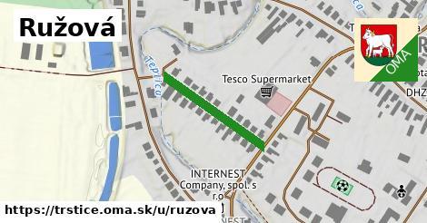 ilustrácia k Ružová, Trstice - 220m