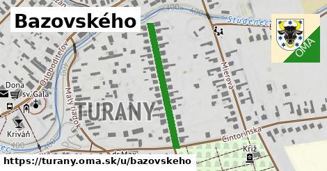ilustrácia k Bazovského, Turany - 286m