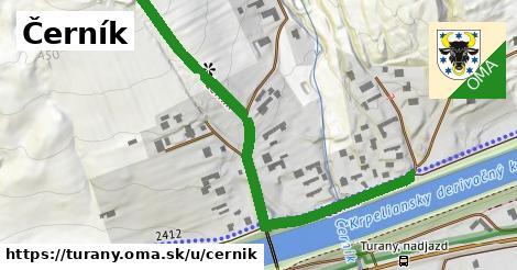 ilustrácia k Černík, Turany - 664m