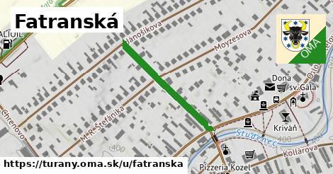 ilustrácia k Fatranská, Turany - 272m