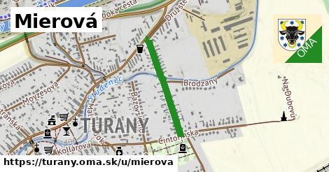 ilustrácia k Mierová, Turany - 467m