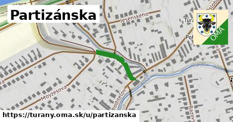 ilustrácia k Partizánska, Turany - 159m