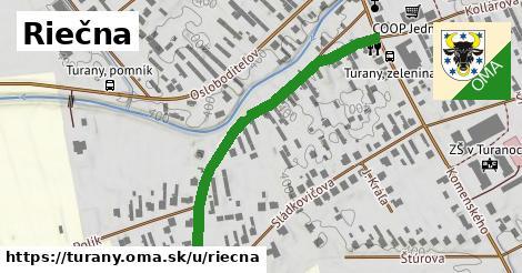ilustrácia k Riečna, Turany - 499m