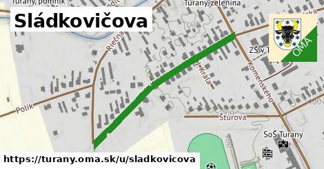 ilustrácia k Sládkovičova, Turany - 409m