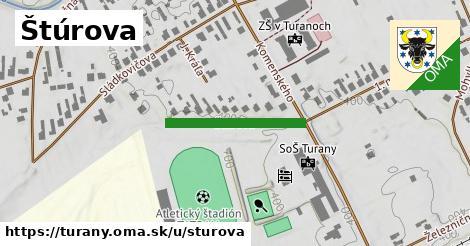 ilustrácia k Štúrova, Turany - 220m