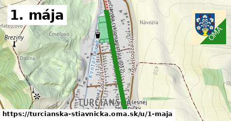 ilustrácia k 1. mája, Turčianska Štiavnička - 658m