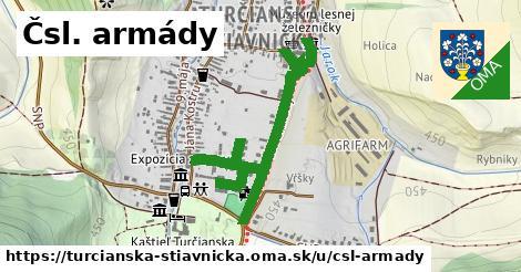 ilustrácia k Čsl. armády, Turčianska Štiavnička - 574m